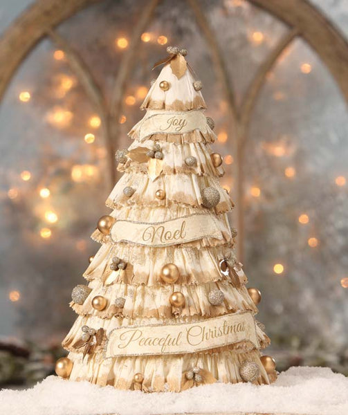 Peaceful Paper Christmas Tree
