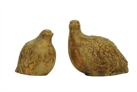 Terra Cotta Partridge - Small