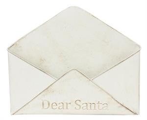 Dear Santa Metal Envelope