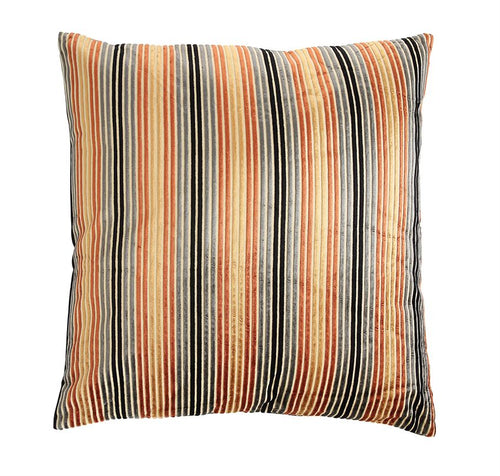 Striped Velvet Pillows