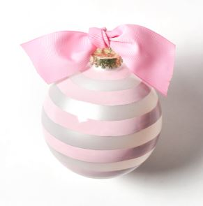 Breast Cancer Survivor Glass Ornament
