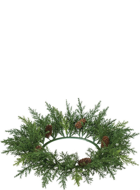 Fraser Fir Wreath with LED Lights
