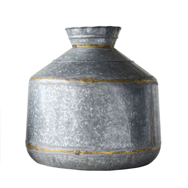 Galvanized Metal Container