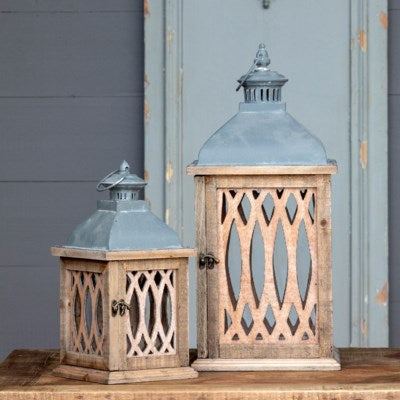 Latticework Lanterns