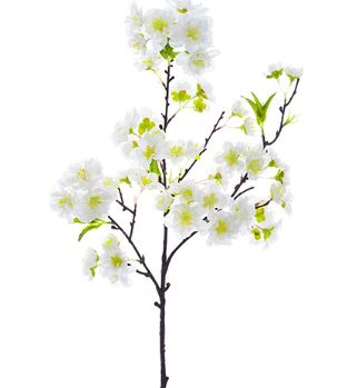 "Cherry Blossom Spray - 18"" White"