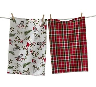 Birds & Berries Dishtowel Set