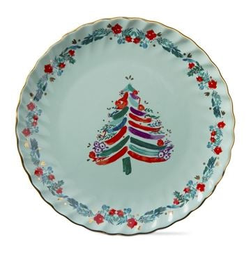 Bright Tree Appetizer Plate
