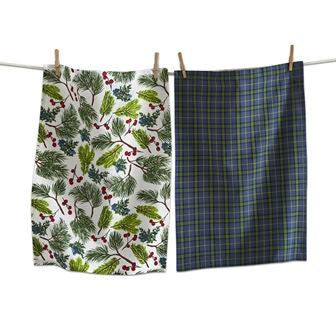 Juniper Sprig Dishtowel Set