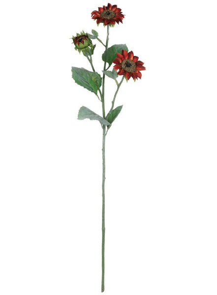 Sunflower Stem- Bronze 28.5""