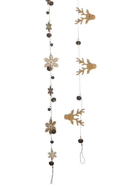 Winter Cork Garland