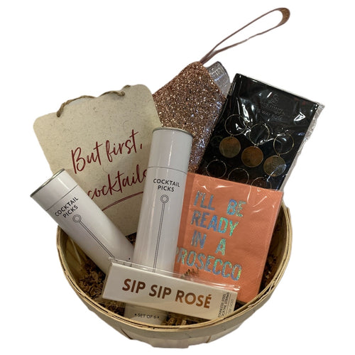 Sip Sip All Day Gift Basket