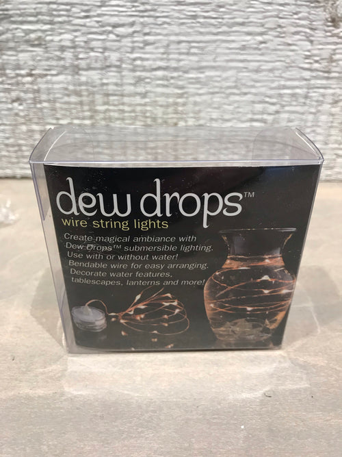 Dew Drops Copper Wire Lights - 36""