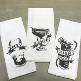 Cocktail Cotton Tea Towels