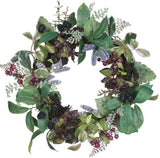 Lavender and Berry Wreath - 20
