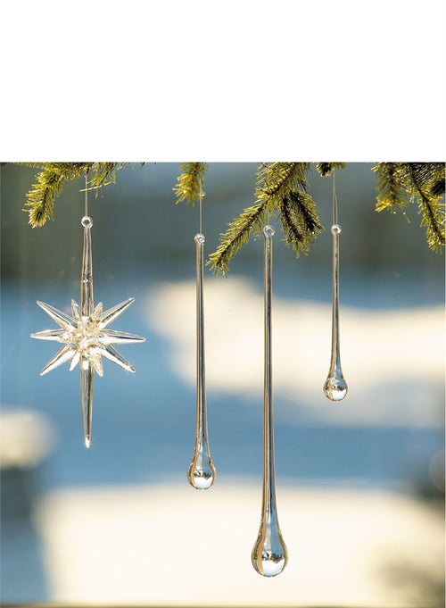 Icicle Drop Ornament