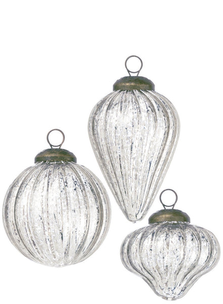 mini mercury glass ornament