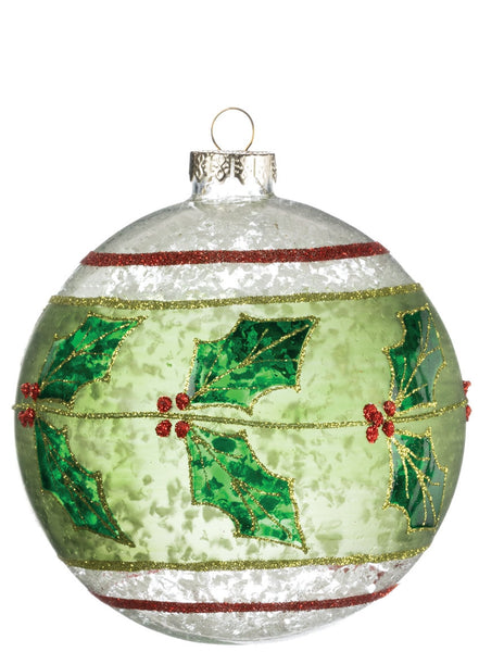 Holly Ball ornament