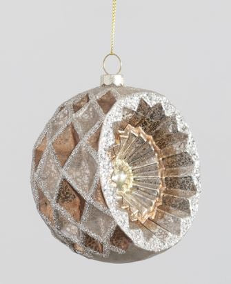 Vintage Glass Ornament