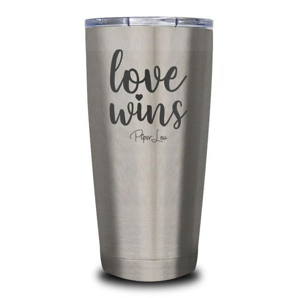 Love Wins Stainless Steel Tumbler