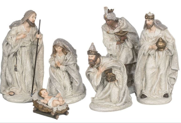 Gold Nativity Set