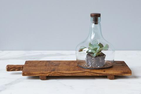 Rustic Footed Serving Tray