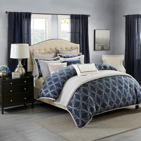 Courtyard Comforter Set by Hampton Hill