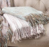 Faux Mohair Throw - 50
