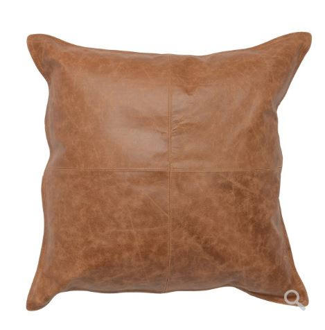 Dumont Leather Pillow