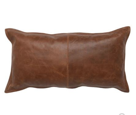 Kona Leather Pillows