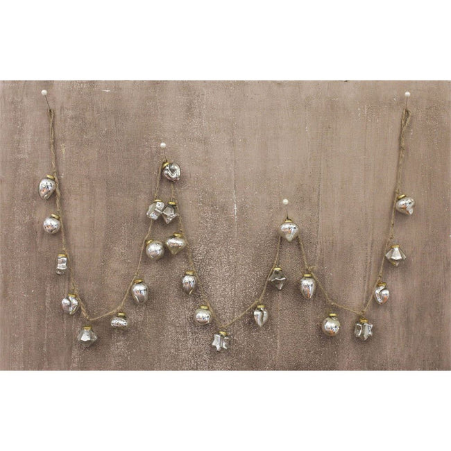 Miniature Mercury Glass Garland