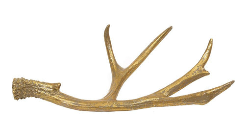 Gold Resin Antler