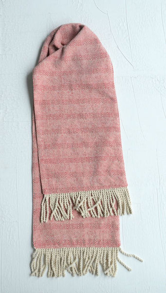 Red & White Cotton Table Runner