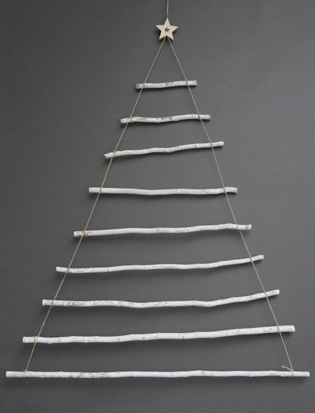 Wood Stick Christmas Tree