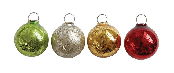 Glass Ball Ornament Boxed Set