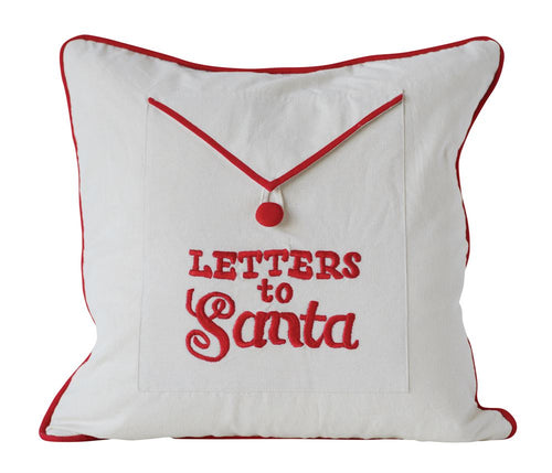 Letters to Santa Pillow