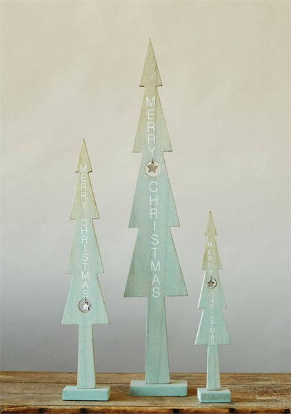 Mint Green Wooden Tree