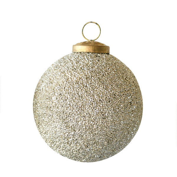 Gold Shimmer Ball Ornaments