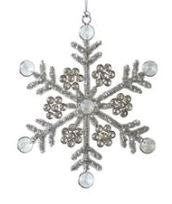 Snowflake Sparkle Ornament