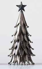 Antique Silver Metal Trees