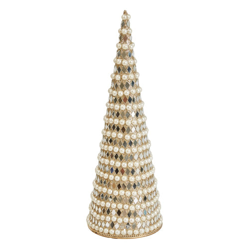 Pearl Mosaic Cone Trees