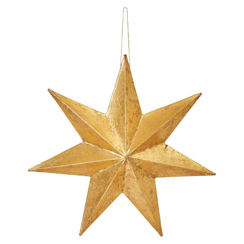 Gold Paper Star Ornament
