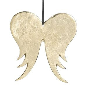Aluminum Angel Wing Ornaments