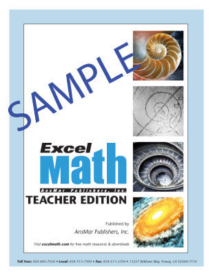 Free Excel Math Sample Packets