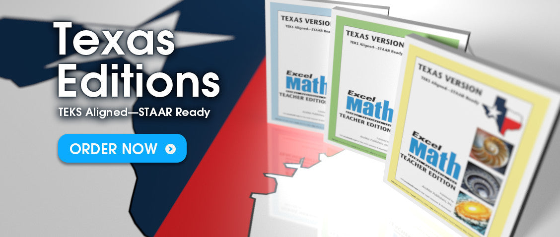 Excel Math Texas Editions
