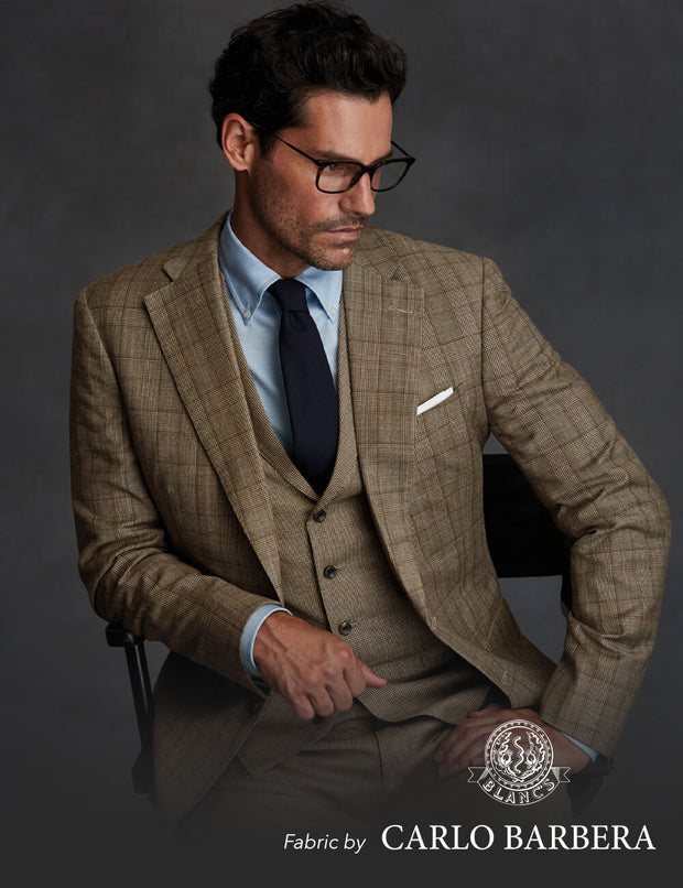 Carlo Barbera Spring Suiting 3 Piece Suit Package