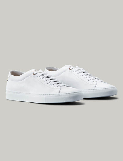 Good Man | Edge Lo-Top Sneaker | White