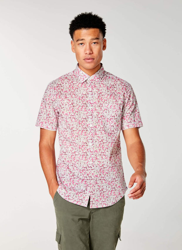 Good Man | Woven On-Point Shirt | Jazzy Petal Liberty Pond
