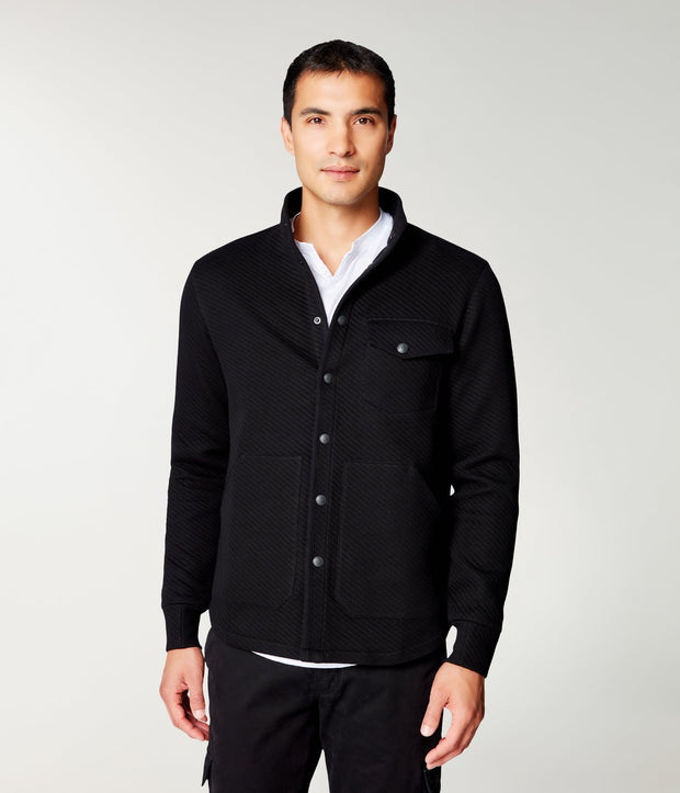 Good Man | Shirt Jacket | Black