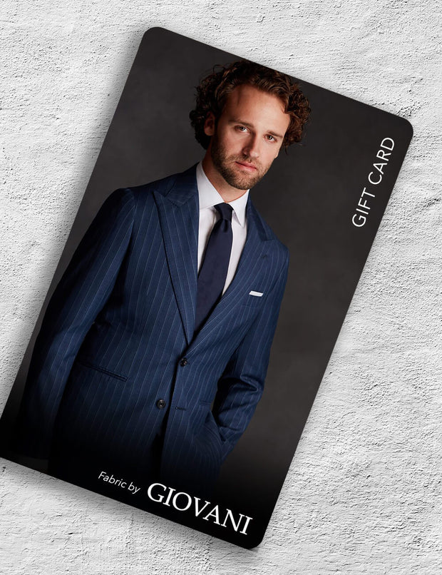 Giovani 2 Piece Suit Gift Card