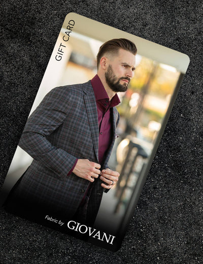Giovani Sportcoat Package Gift Card